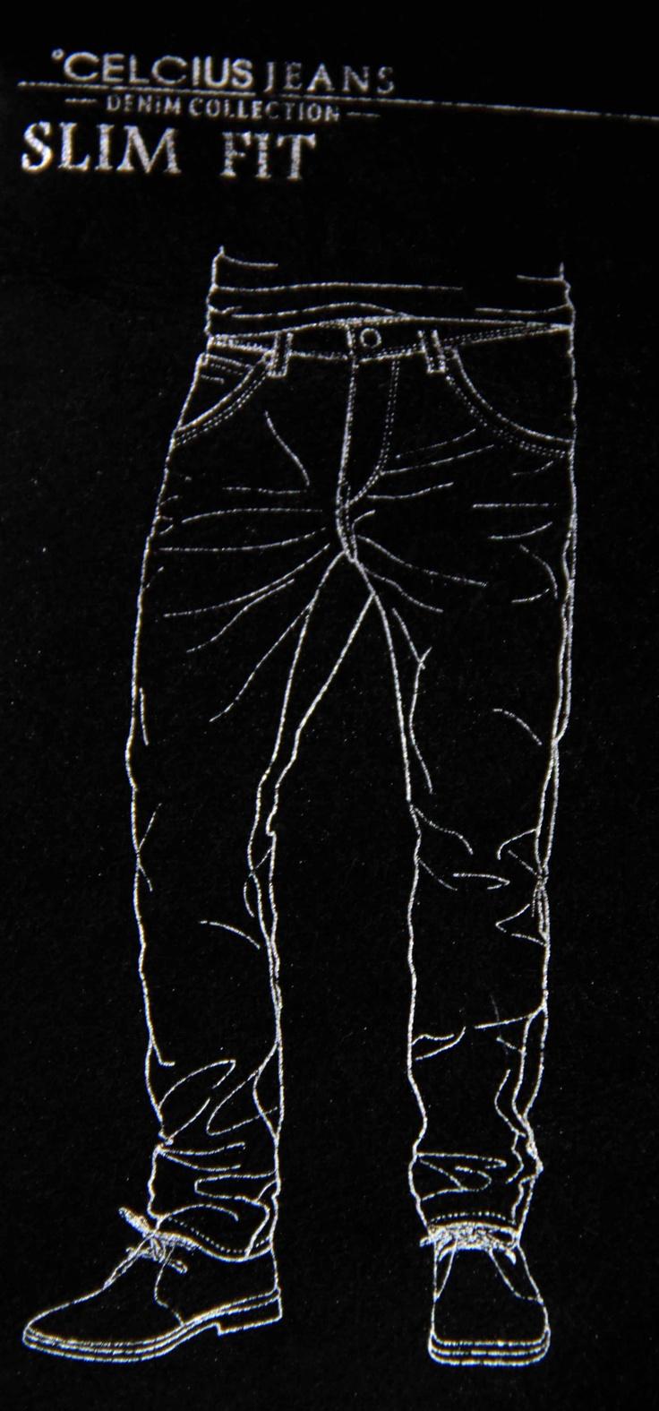 Dapatkan koleksi Celcius Jeans Slim Fit di Celcius Store di kotamu ....