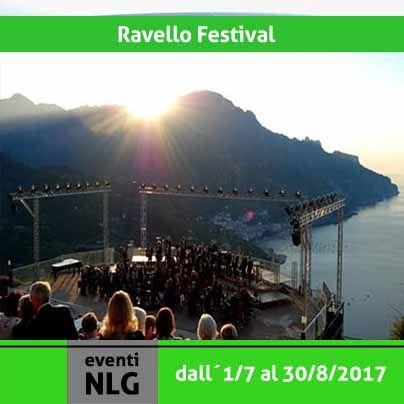 """Nello splendido Belvedere di Villa Rufolo si e` inagurato il primo Luglio il """"Ravello Festival"""" che quest´anno festeggia il suo 65° compleanno con un cartellone di eventi che mettera` assieme passato e presente della sua storia musicale. Per info sul programma http://www.ravellofestival.com/"""