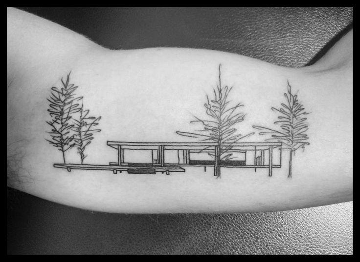 118 Impressive Architecture Tattoo Designs,Ezequiel I. Conde. <a href='https://www.facebook.com/photo.php?fbid=10213613323786279&set=p.10213613323786279&type=3&theater'>Via Facebook</a>