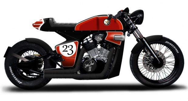Honda Shadow VT600 Cafe Racer by Rocket Supreme #motorcycles #caferacer #motos | caferacerpasion.com