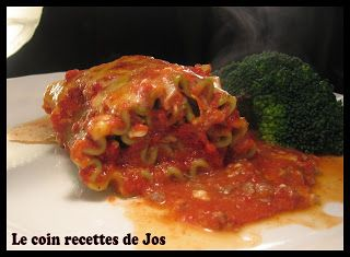 Le coin recettes de Jos: ROULEAU D'ORIGNAL À L'ITALIENNE
