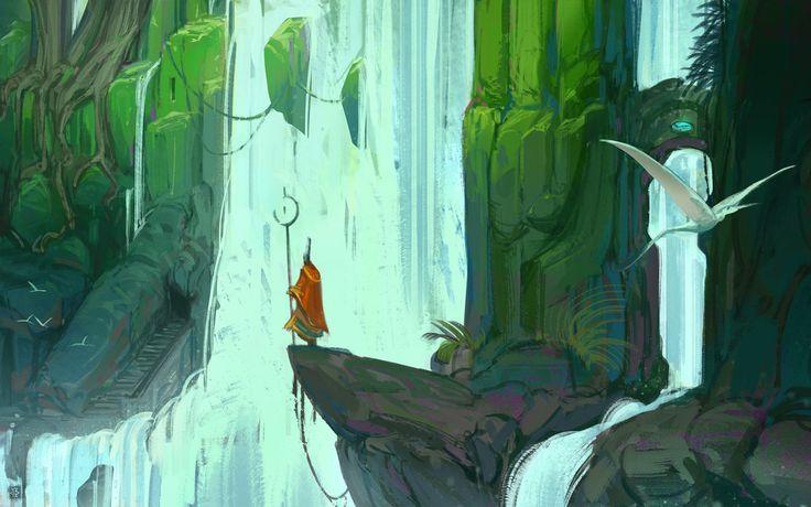 Rebirth Cascades por Fesbra - Paisajes | Dibujando.net