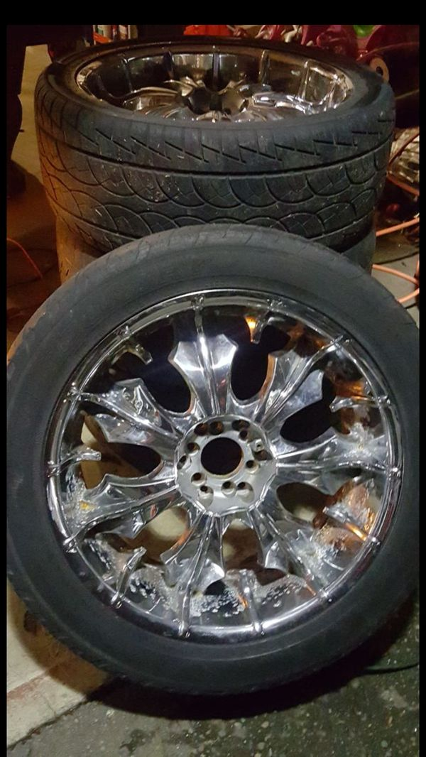 """22"""" rims sale or trade for rc cars, etc"""