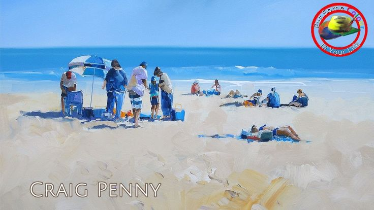 Fine Art Tips with Craig Penny on Colour In Your Life