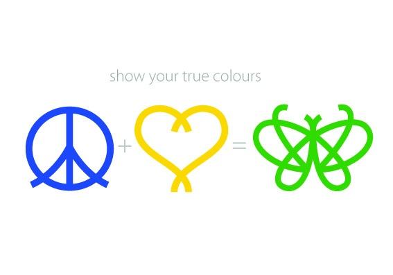 Always show your true colours