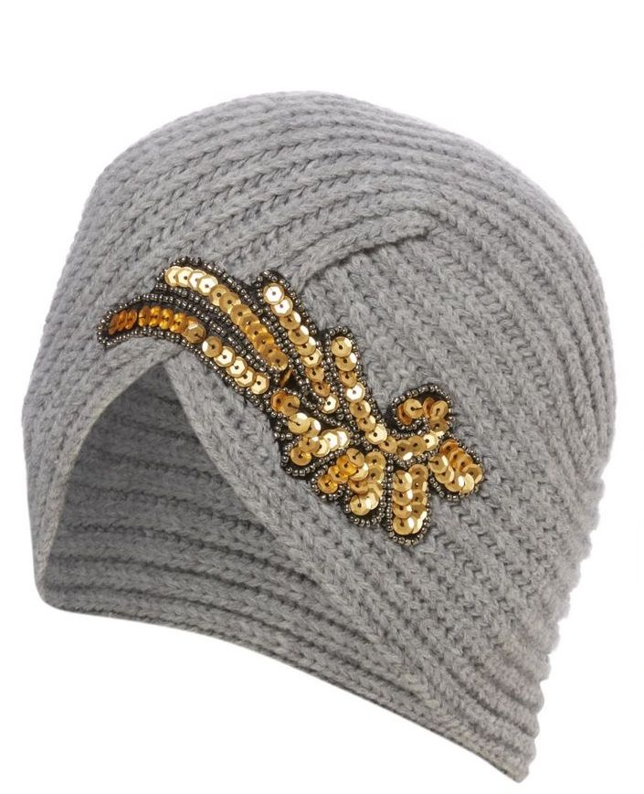 Stay chic in the cold with this 1920s inspired ribbed effect turban from @tuclothing