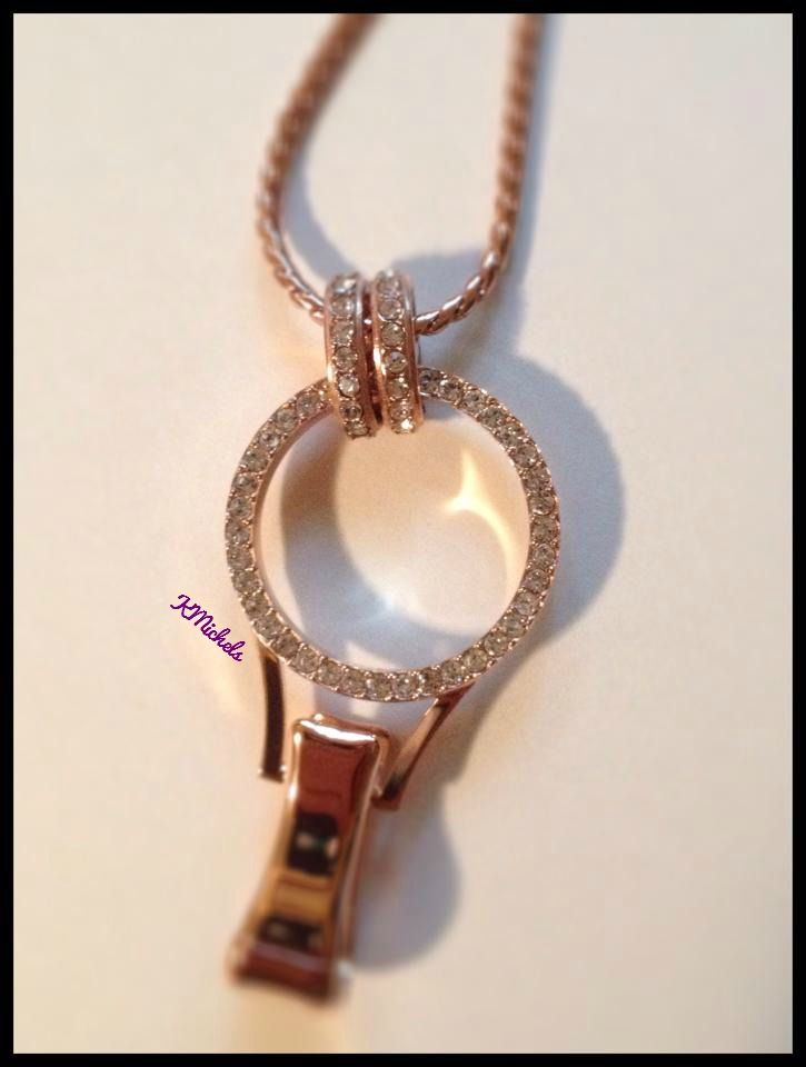 Origami Owl New Lanyard Locket for our professionals who wear a badge. Beautiful rose gold locket to create your story to wear throughout your work day. #45493 melindab.origamiowl.com