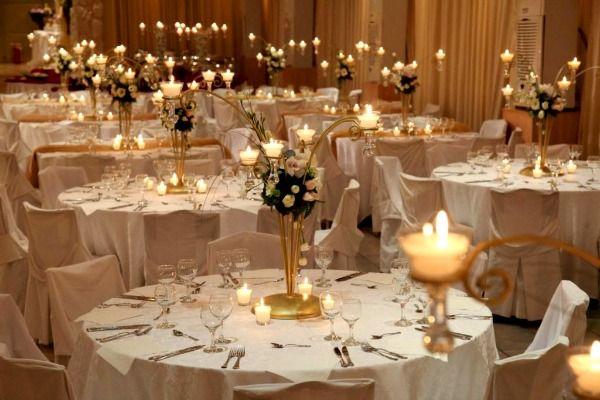 Картинки по запросу декор свадьбы свечами
