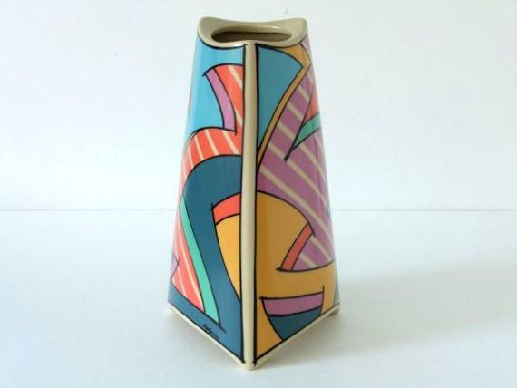 Rosenthal Glas Vase Tapio Wirkkala Design Studio Linie70er Jahre