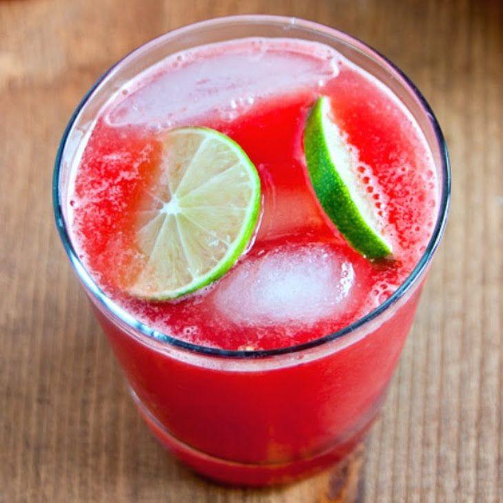 Jalapeno Watermelon Limeade Recipe | Cocktails & Coolers | Pinterest