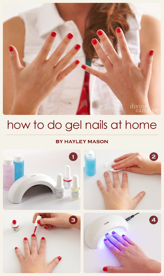 How to do gel nails at home salons gel nail kit and manicure solutioingenieria Image collections