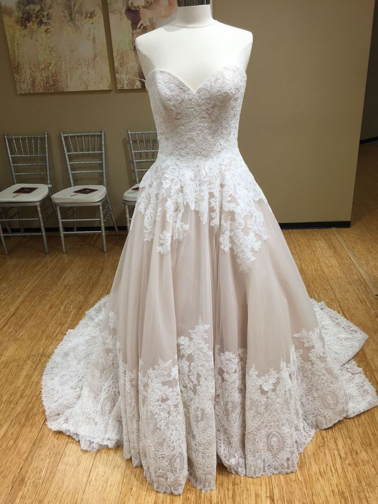 Every inch has been carefully designed for this wedding dress to make the wedding dress of your dreams come true. Timeless Alencon lace and Organza combine to create this stunning wedding Dress. Featuring a romantic sweetheart neckline, and covered button details decorating the back. (Style: #2674 | Designer: Mori Lee | Sizes: 2-28) #MichellesBridal #Wedding #WeddingDress #WeddingGown #BridalGown