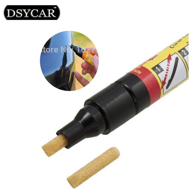 Non Beracun DSYCAR 1 pcs Baru Mobil Jelas Mantel Aplikator Memperbaiki It Pro Hapus Mobil Scratch Perbaikan Remover Pen Mobil-styling pembersihan alat