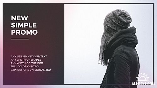 Simple Promo - Project for After Effects (Videohive)
