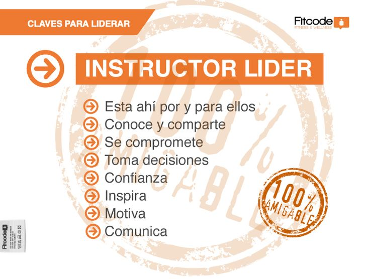 Un instructor Lider