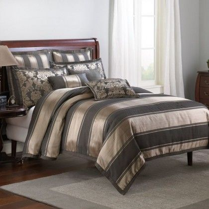 Veratex Hollister Stripe Duvet Cover Set