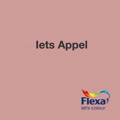 Collectie: Flexa mengkleuren Kleur: Iets Appel URL: http://www.flexa.nl/nl/kleur/iets-appel/