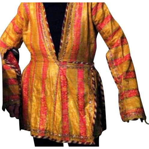 safavid clothing | Safavid Period antique Persian Female Jacket from valuables on Ruby ...
