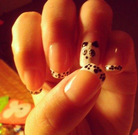 Panda #nail