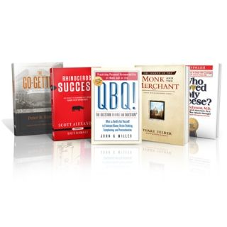 The five books Dave Ramsey requires all employees to read when they are hired.