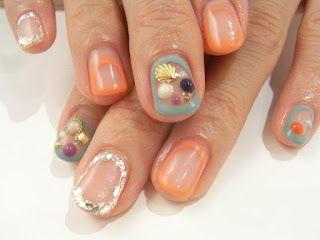 http://nydenail.blogspot.jp/: Love Nails, Nails Nails, Nails Art, Coquine Nails, Coquin Nails, Hair Makeup Nails