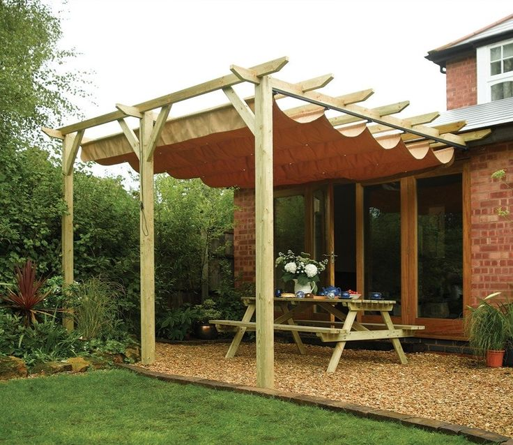 Swedish Cabin With Roof Top Garden And Retractable Outdoor: Best 25+ Garden Canopy Ideas On Pinterest