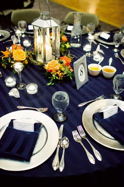 369 best images about royal blue yellow and ivory - Yellow and orange wedding decorations ...
