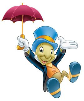 Jiminy Cricket vous salue !