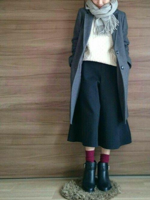 Aya|GUのニット・セーターを使ったコーディネート - WEAR