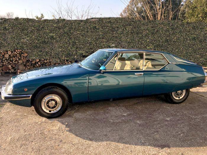 Très belle Citroën SM de 1971 Voiture parfaite, a toujours été garée dans un…