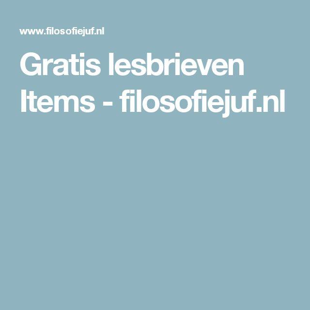 Gratis lesbrieven Items - filosofiejuf.nl