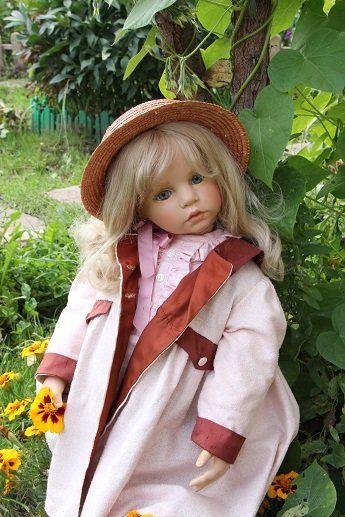 """Sylvia Louise"", Hildegard Gunzel Doll для WPM Germany / Другие коллекционные куклы / Бэйбики. Куклы фото. Одежда для кукол"