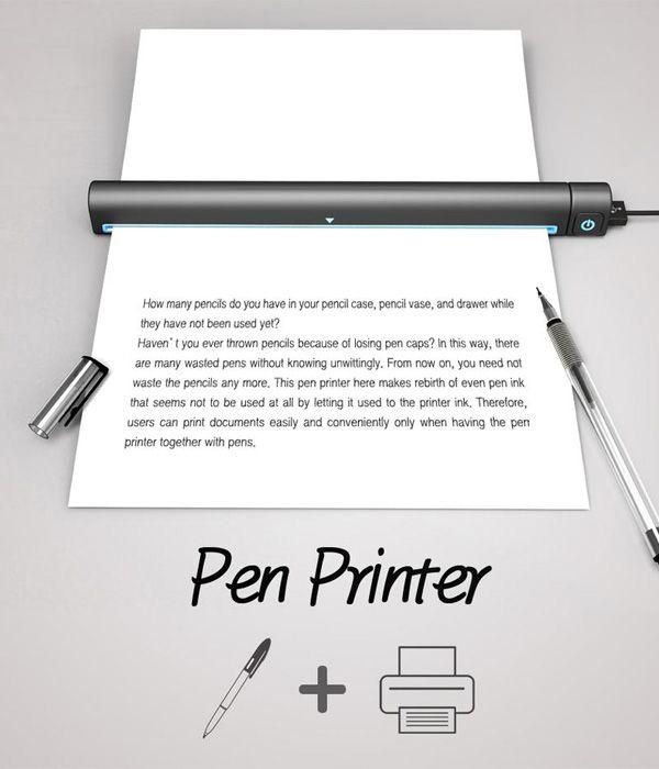 Pen Printer by Tae-jin Kim & Su-in Kim
