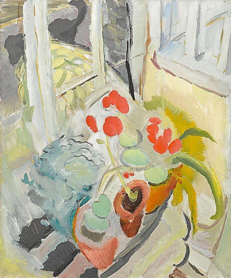 Ivon Hitchens (1893–1979), Black Dog, 1932, Oil on canvas, 61 x 50.8 cm