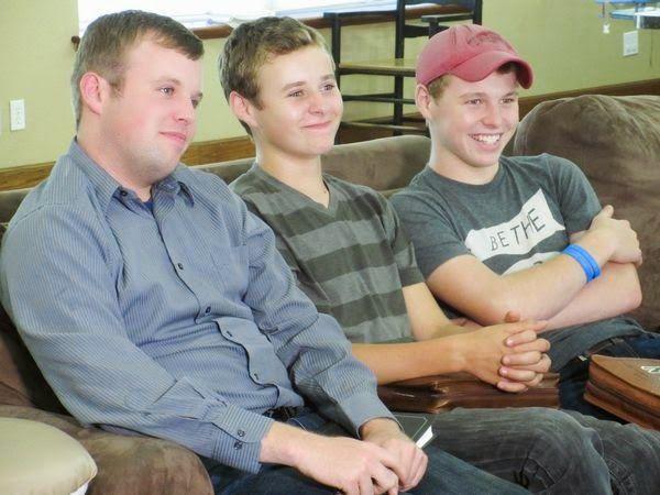 John-David Duggar, Jedidiah Duggar, Jeremiah Duggar reacted to Jill's baby news