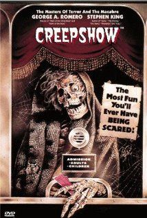 """Creepshow (1982), Creepshow Films Inc. and Laurel Entertainment Inc. with a multitude of actors for this one including Stephen King's screen debut as Jordy Verrill in """"The Lonesome Death of Jody Verrill."""""""