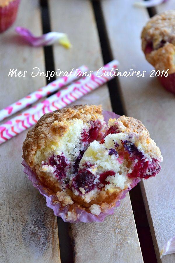 recette muffins aux myrtilles moelleux
