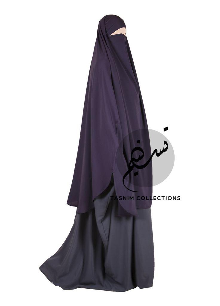 "Khimar & niqab ""Hana"" LARGE - Tasnimcollections"