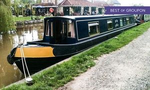 Groupon - Wiltshire: 1- or 3-Night Narrowboat Hire for Up to Eight with Instruction Course with Sally Narrowboats in Sally Narrowboats. Groupon deal price: £279