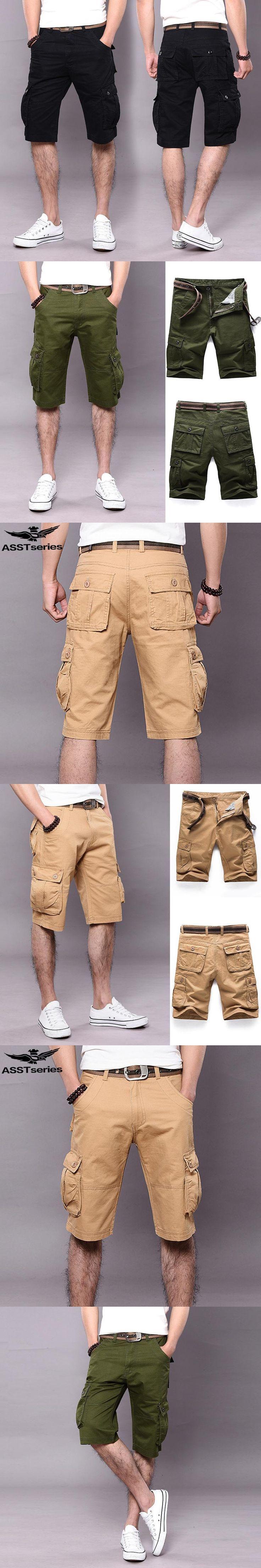 Men's Tactical Shorts Cargo Military Shorts For Men Army Jeans Short Bermuda Cargo Masculina Pantalones Cortos Hombre.AA03