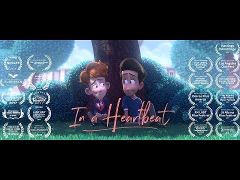 "In a Heartbeat - Animated Short Film - VER VÍDEO -> http://quehubocolombia.com/in-a-heartbeat-animated-short-film   	 ""In a Heartbeat"" – Animated Short Film by Beth David and Esteban Bravo A closeted boy runs the risk of being outed by his own heart after it pops out of his chest to chase down the boy of his dreams. contact.inaheartbeat@gmail.com Facebook Page – Official Tumblr Page..."