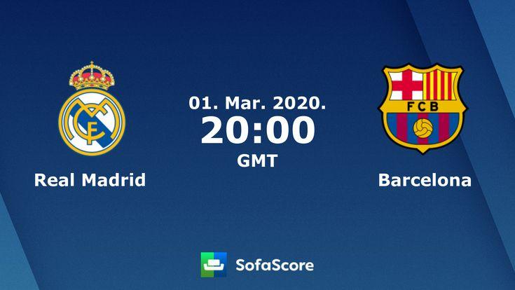 Real Madrid Vs Barcelona Live Sofascore In 2020 Real Madrid And Barcelona Real Madrid Vs Barca Madrid