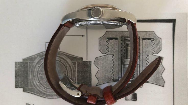 Oyster Junior Sport (italiano). Un'alternativa ufficiale degli Anni 40 ai modelli Rolex.