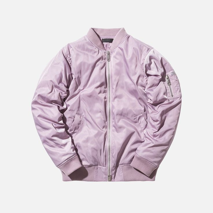 Kith Classics Astor Bomber - Royal Purple