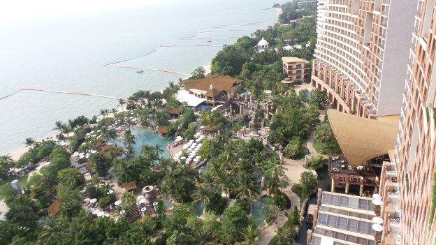 Room View at the Centara Grand Mirage Beach Resort Pattaya, Thailand
