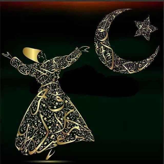 ✿ ❤ Hz.Mevlânâ (Rumî) Come let's fall in love again, let's turn all the dirt in this world to shiny gold. Rumi