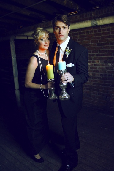 Awesome Nancy Drew and Frank Hardy wedding photo shoot! ! Where, When did this happen! I want to see it!
