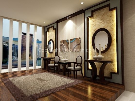 Hardwood Flooring in Living Room Interior Design