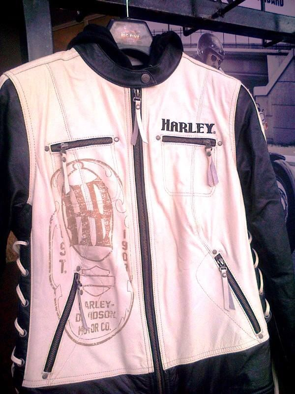Hello Ladies - pop in and see the wonderful new selection of Ladies leather jackets! Combinations of vintage leather in cream, brown and black!