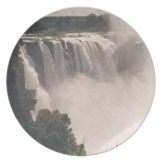Victoria Waterfalls plate    http://artscraftsandframes.co.za/
